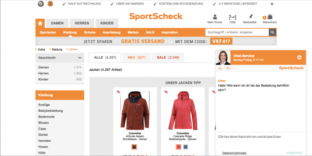sportscheck-chat-service-by-finnchat